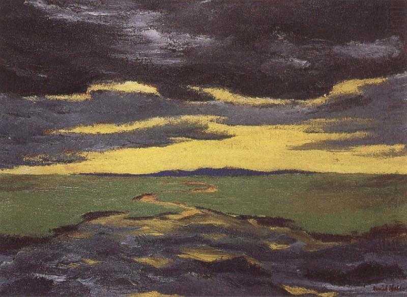 Early kvall, Emil Nolde