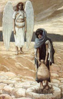Hagar and the Angel in the Desert, James Tissot