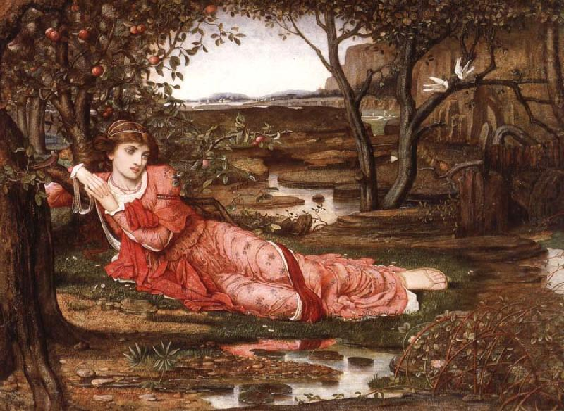 Song without Words, John Melhuish Strudwick