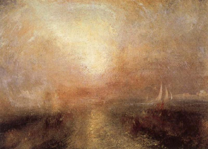 Yacht Approaching the Coast, Joseph Mallord William Turner