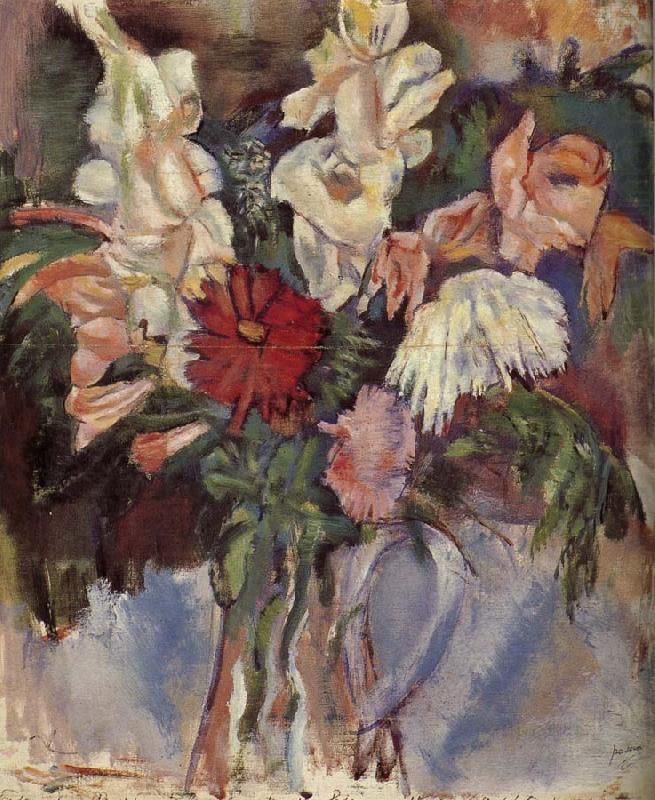 Flower and vase, Jules Pascin