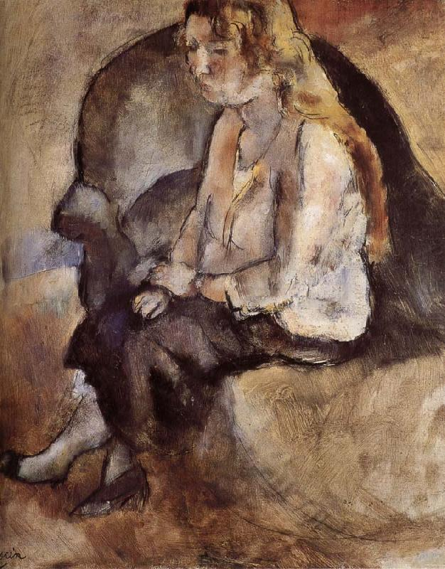 Malucy Have golden haid, Jules Pascin