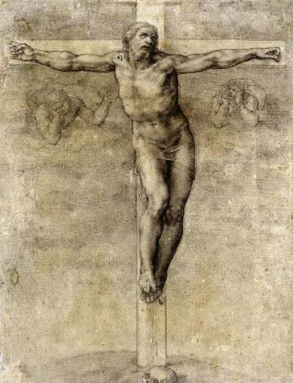 Michelangelo Buonarroti Christ on the Cross