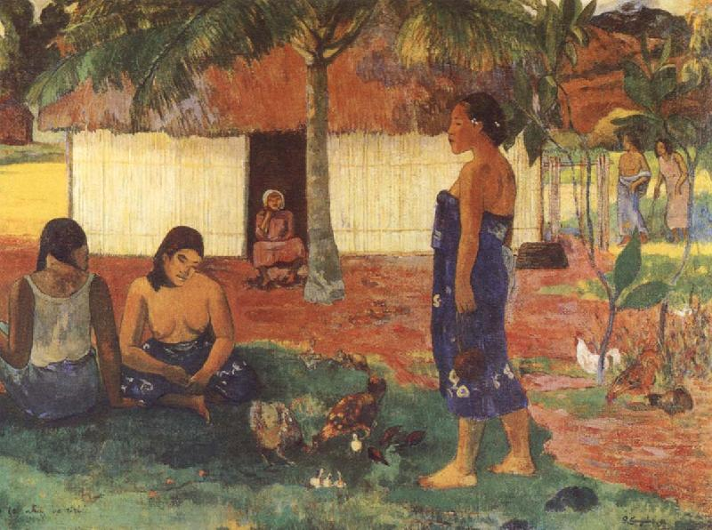 Why are you anger, Paul Gauguin