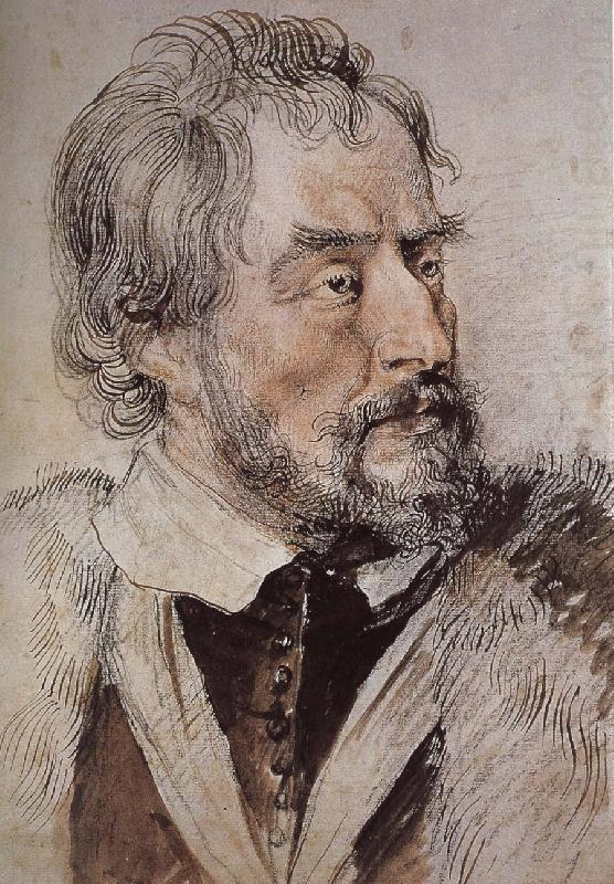 Portrait of thomas, Peter Paul Rubens