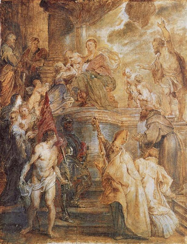 Peter Paul Rubens Mary