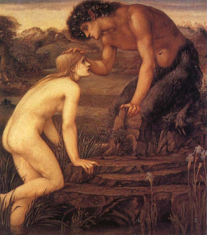 Pan and Psyche, Sir Edward Coley Burne-Jones