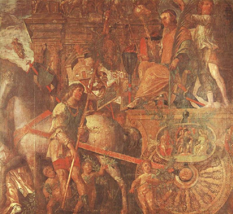 Caesar-s Chariot From the triumph of caesar Mantegna, unknow artist