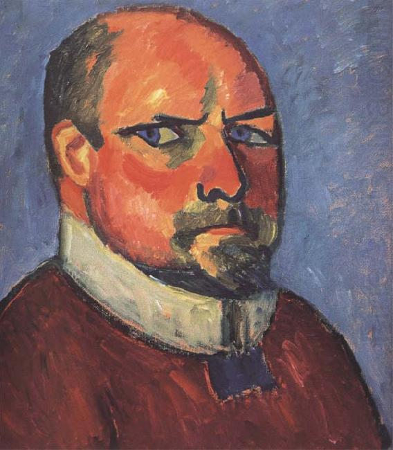 Alexei Jawlensky Self-Portrait