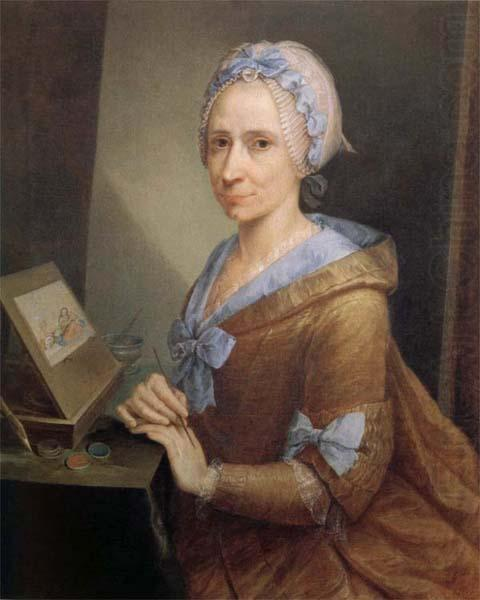 Anna Bacherini Piattoli Self-Portrait