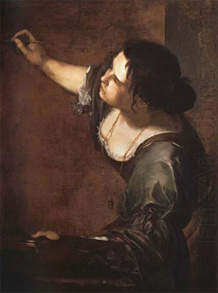 Self-Portrait as an Allegory of Painting, Artemisia gentileschi