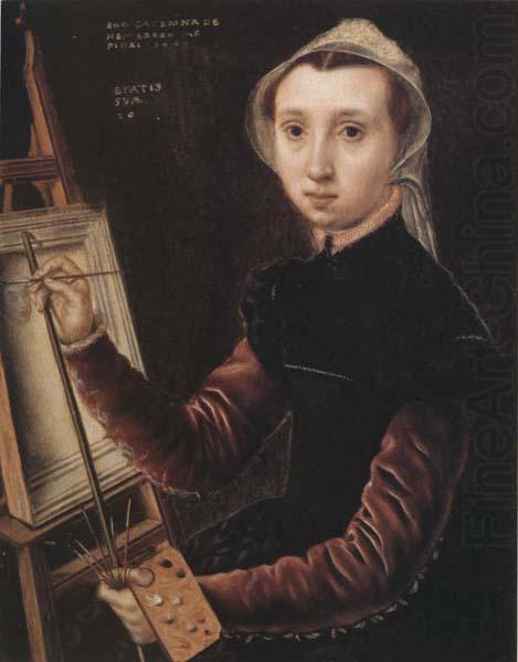 Catharina Van Hemessen Self-Portrait