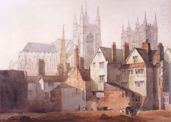 David Cox Old Westminster (mk47)