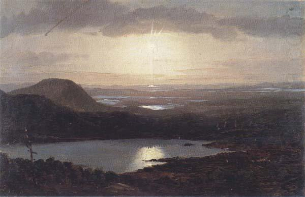 Eagle Lake Viewed from Cadillac Mountain, Frederic E.Church