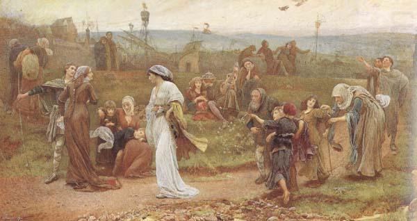 Gilbert a Becket's Troth (mk46), George John Pinwell,RWS