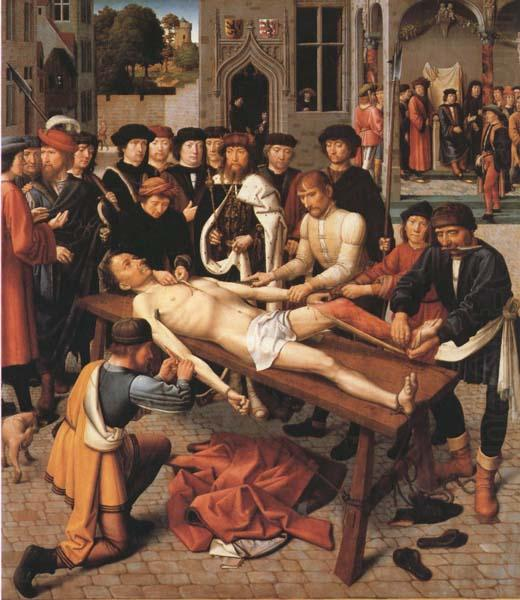 Gerard David The Flaying of the Corrupt Judge Sisamnes (mk45)