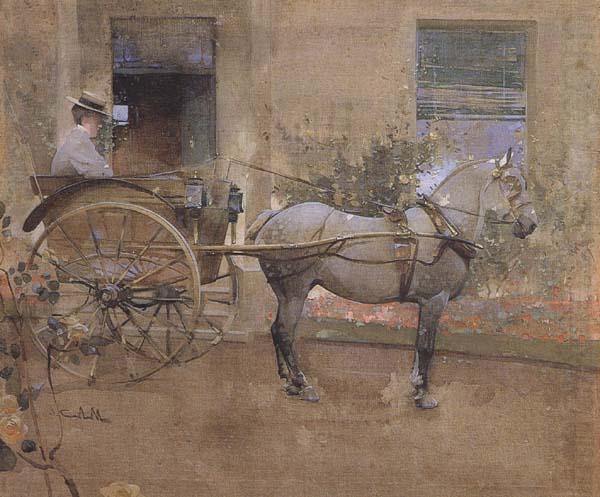 The Governess Cart (mk46), Joseph Crawhall