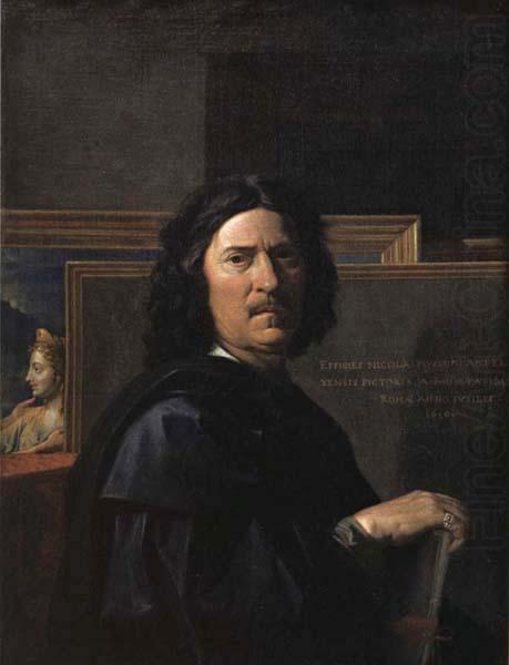Nicolas Poussin Self-Portrait