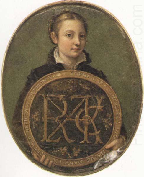 Bernardino Campi Painting Sofonisba Anguissola. Self-Portrait Holding a