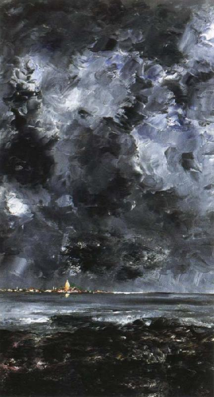 the city, August Strindberg