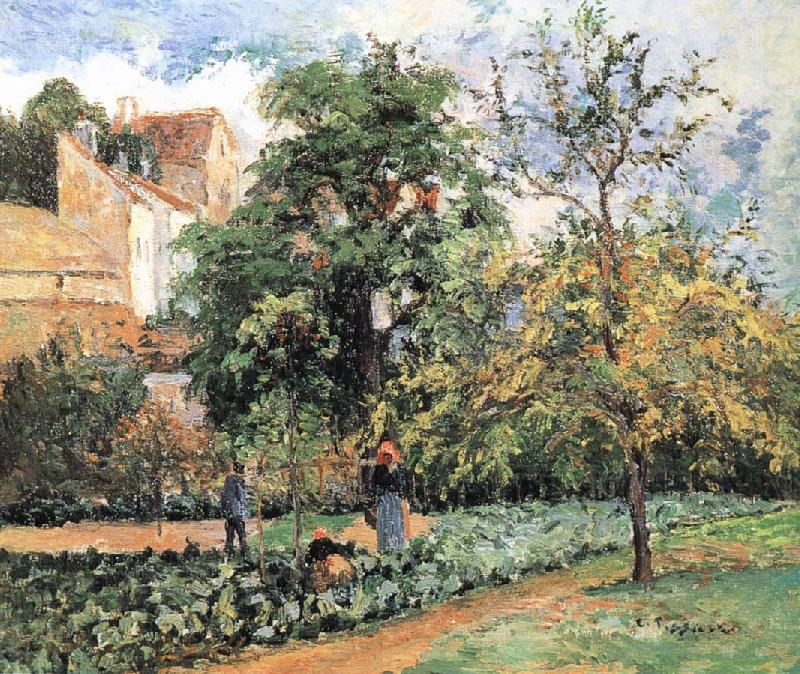 Pang plans Schwarz orchards, Camille Pissarro