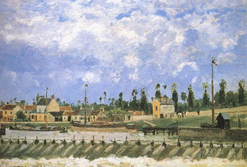 Pang plans scenic Schwarz, Camille Pissarro