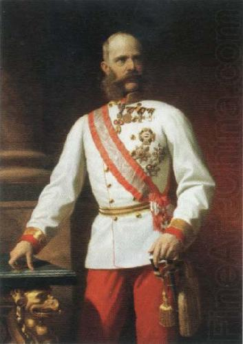 kaiser franz josef l of austria in uniform, Eugene de Blaas