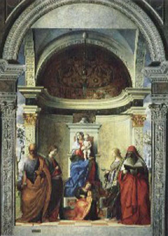 Zakaria St. altar painting, Gentile Bellini