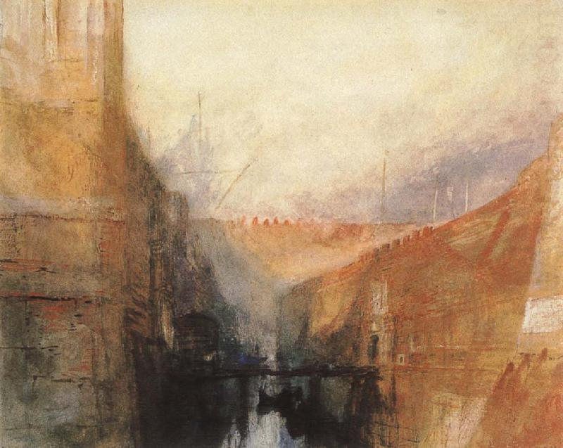 Factory, Joseph Mallord William Turner