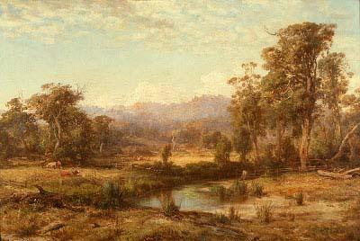 Macedon Ranges, Louis Buvelot