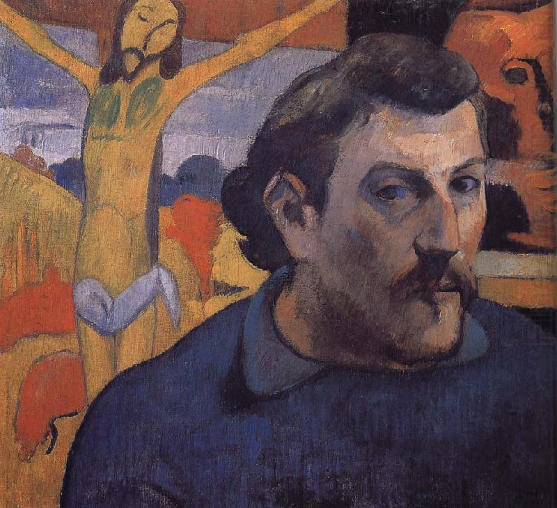 Yellow Christ's self-portrait, Paul Gauguin