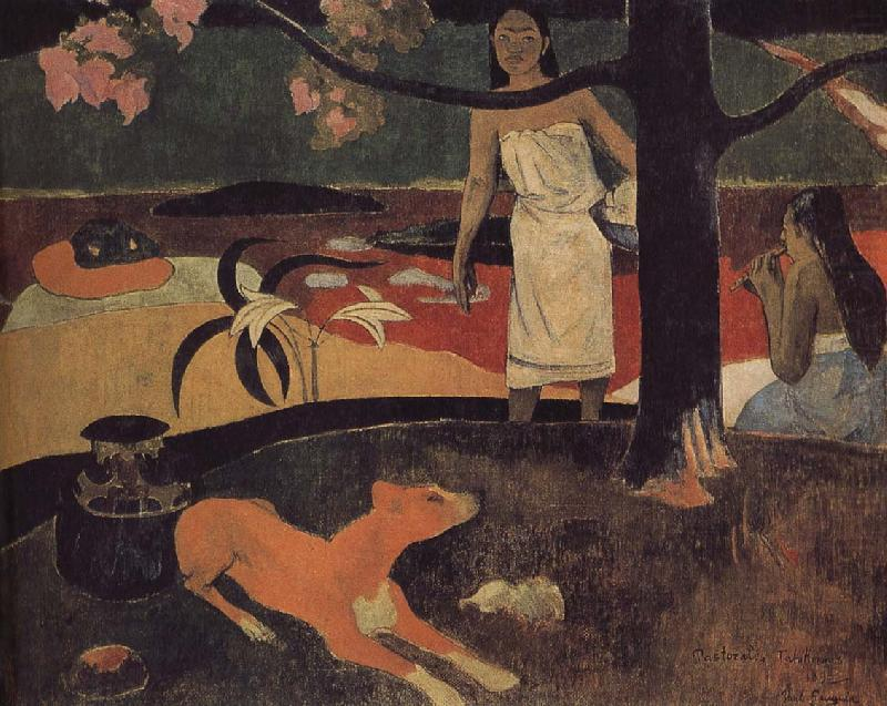 Tahiti eclogue, Paul Gauguin