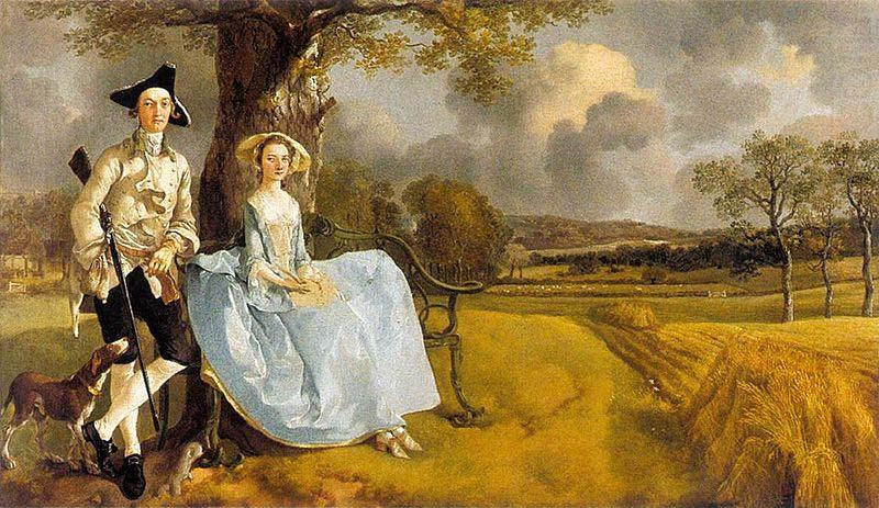 Gainsborough Mr and Mrs Andrews, Thomas Gainsborough