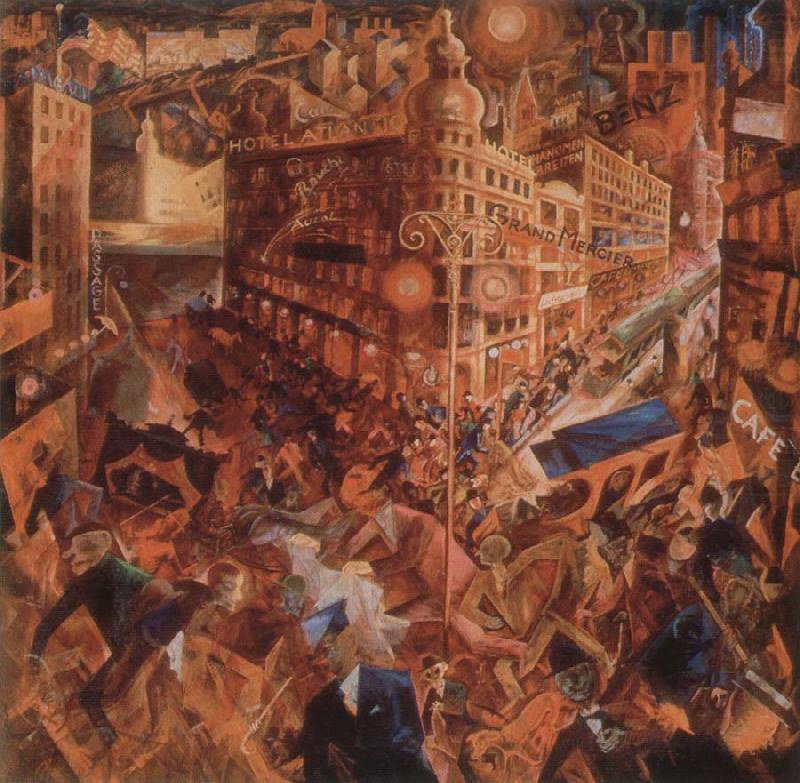 metropolis george grosz wholesale oil painting china