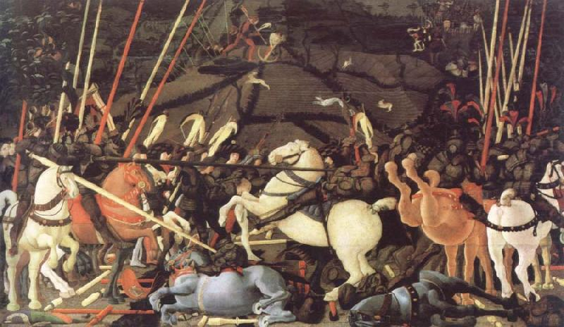 the battle of san romano, paolo uccello