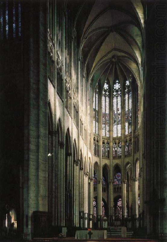 Beauvais Cathedral, part of the choir, unknow artist