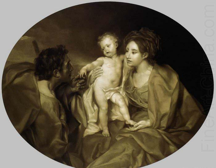 Anton Raphael Mengs The Holy Family