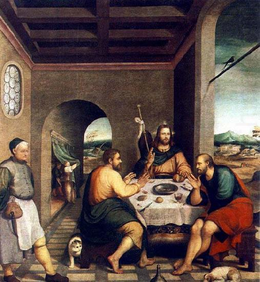 Supper at Emmaus, BASSANO, Jacopo