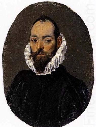 El Greco Portrait of a Man