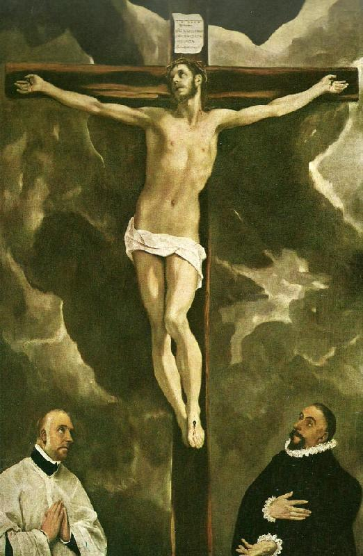 El Greco christ on the cross