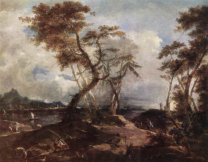 GUARDI, Francesco Landscape