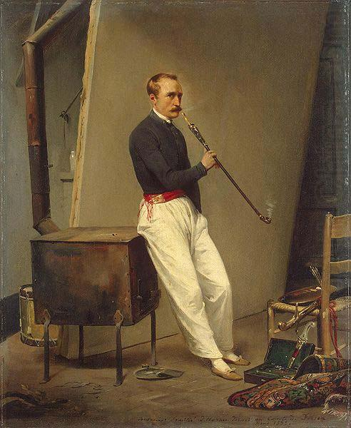 Self portrait, Horace Vernet