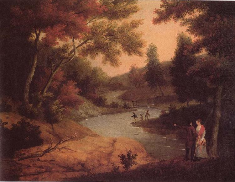 View on the Wissahickon, James Peale