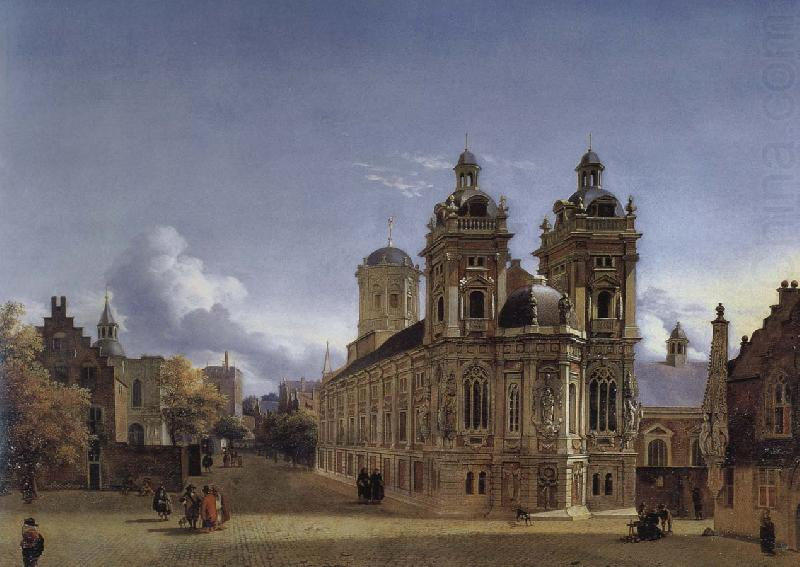 Church Square, memories, Jan van der Heyden