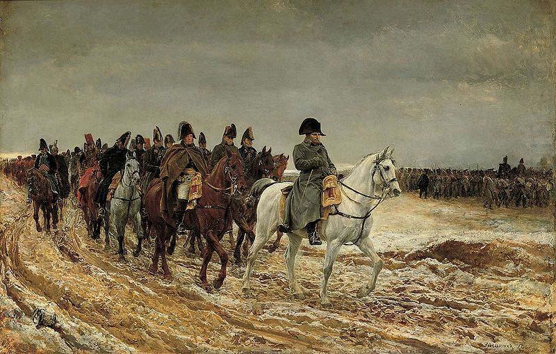 Campagne de France, Jean-Louis-Ernest Meissonier
