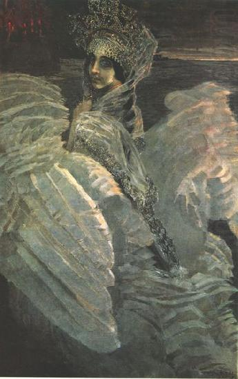 Nadezhda Zabela Vrubel as the Swan Princess, Mikhail Vrubel