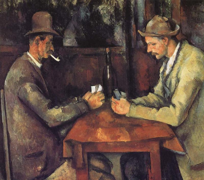 cards were, Paul Cezanne