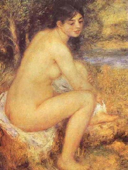 Seating Girl,, Pierre-Auguste Renoir