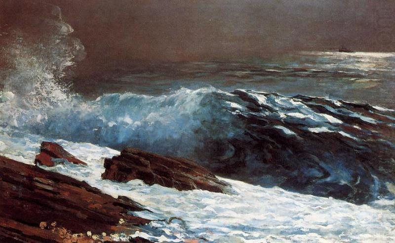 Sunlight on the Coast,, Winslow Homer