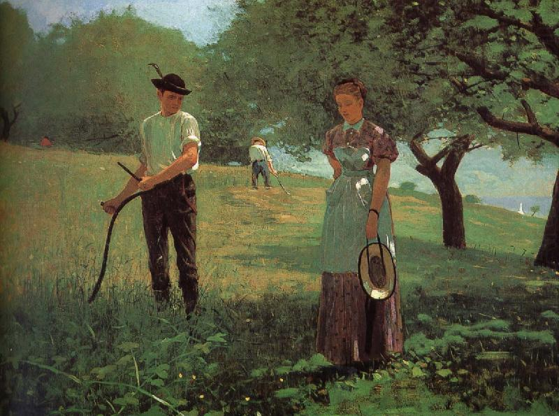 Waiting for reply, Winslow Homer
